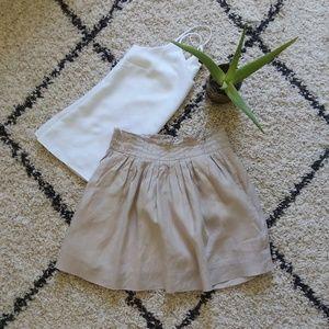 JCrew Linen short Skirt